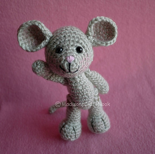 Ravelry Morris The Mouse Pattern By Janice Cyr
