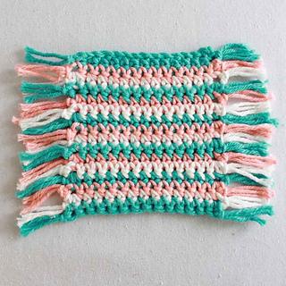 Free Crochet Pattern For Mug Rug : Ravelry: Mug Rug Coaster pattern by Maggie Weldon
