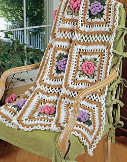 Ravelry leisure arts 3859 the best of maggie weldon crochet cabbage rose afghan dt1010fo