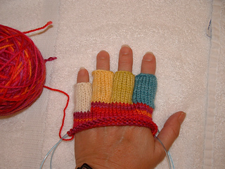 Ravelry: Half-Finger Glove pattern by Margaret Radcliffe