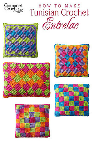 Ravelry How To Make Tunisian Crochet Entrelac Patterns