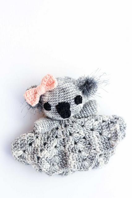 Ravelry Cuddly Koala Lovey Pattern By Jess Coppom