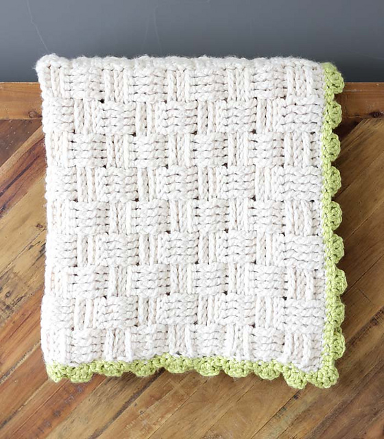 Ravelry Lineage Basketweave Afghan Pattern By Jess Coppom