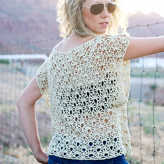 Ravelry: Canyonlands Boho Top pattern by Jess Coppom