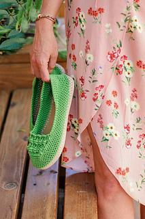 963c99fec43d Ravelry  Summertide Slip-On Shoes pattern by Jess Coppom