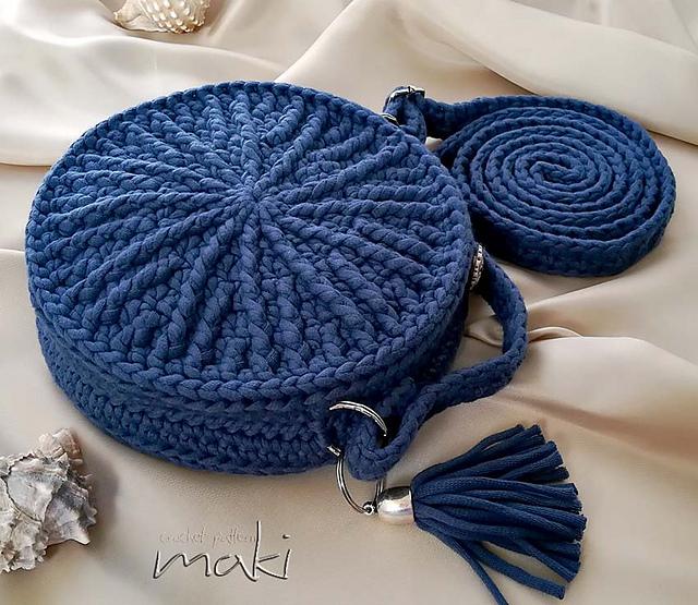 Ravelry My Round Bag Pattern By Makicrochet