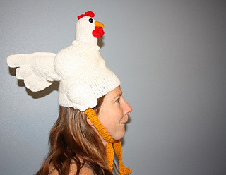 Ravelry  Chicken Hat pattern by Madeleine Cantu 04aa7625058
