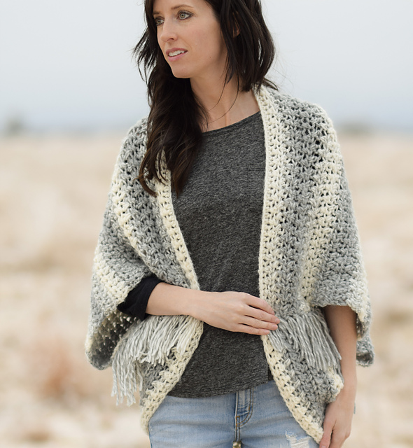 f2e2116ae2 Ravelry  Light Frost Blanket Sweater pattern by Jessica Reeves Potasz