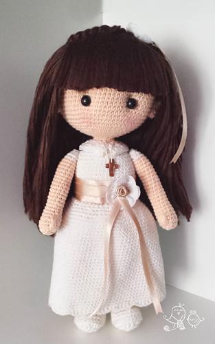 Ravelry First Communion Doll Pattern By Rosana Gonz 225 Lez