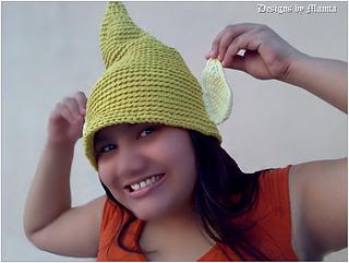Ravelry  Tinkerbell Fairy Hat pattern by Mamta Motiyani e0ff77ec741