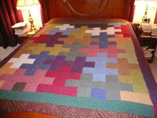 Ravelry Jigsaw Afghan Pattern By Joanne Conklin