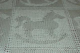 ravelry rocking horse baby blanket pattern by barbara breiter