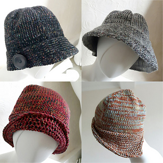ccc85d057ae Ravelry  Downton Hat   Cloche Hat pattern by Marianne Henio