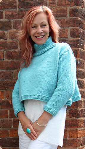 723b5487dd2 Ravelry  Cheeky Sweater pattern by Marianne Henio