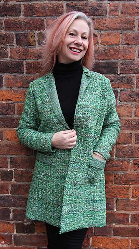 82064d225d1 Ravelry  Henio Coat pattern by Marianne Henio