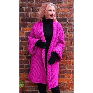 f7068ecf8e3 Ravelry  Delilah Coat pattern by Marianne Henio