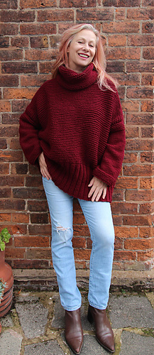 c6a4b4882a8 Ravelry  Claret Sweater pattern by Marianne Henio