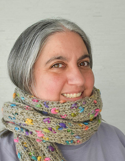 Ravelry Fire Beads Scarf Pattern By Marie Segares