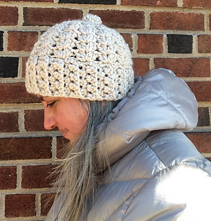 Ravelry  Chunky Double V-Stitch Hat pattern by Marie Segares aa1b33cd30e