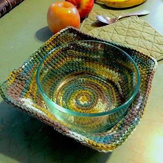Ravelry: Bowl Cozy Hot Pad pattern by Amy B Stitched