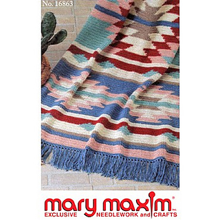 Ravelry: Mohave Afghan pattern by Mary Maxim