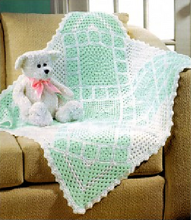 Ravelry: Baby Sampler Afghan pattern by Mary Maxim
