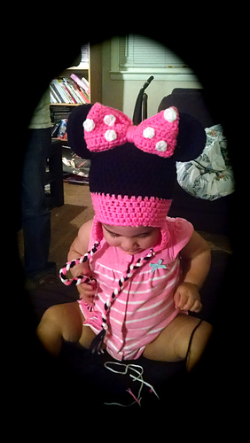 Ravelry  Mickey Mouse Beanie with Earflaps pattern by Janet Carrillo 8448e70bad5