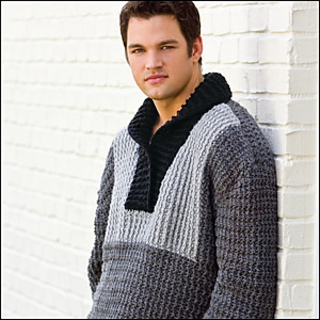 3b4ab439a6224 Ravelry  Tuxedo-Front Pullover pattern by Kim Kotary