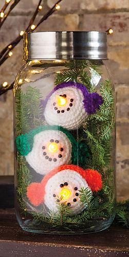 Ravelry Snowman Lights Pattern By Debra Arch