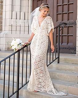 Crochet Wedding Dress Pattern.Ravelry Everlasting Wedding Dress Pattern By Jenny King