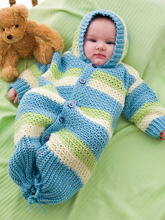Ravelry Hooded Baby Bunting Pattern By Joyce Nordstrom
