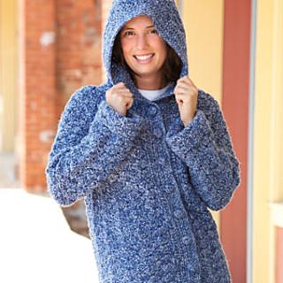Ravelry: Denim Tweed Car Coat pattern by Beth Swider