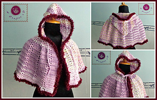 97faa39a91539 Ravelry  Scent of Spring hooded cape pattern by Maz Kwok
