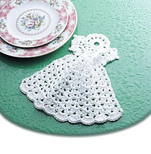 Ravelry Angel Dishcloth Pattern By Edna Howell