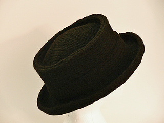 Ravelry  New York Pork Pie Hat Boys Men Girls Womens pattern by ... 49b6fcdfbf8