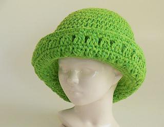 Ravelry  Annie s Wide Brim Hat pattern by Meadowvale Studio 7550cbe9d6b