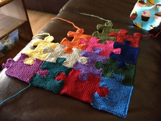 Ravelry Puzzle Pieces Pattern By Megan Ellinger