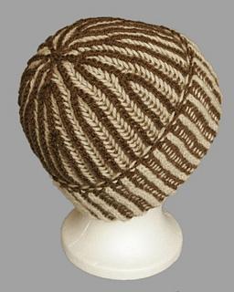 df93c40ad4e Ravelry  Circular Bicolour Prime Rib (Brioche) Hat pattern by Megan Mills