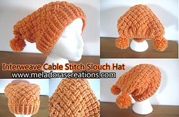 Interweave_cable_stitch_sloutch_hat_combined_finish_small_best_fit