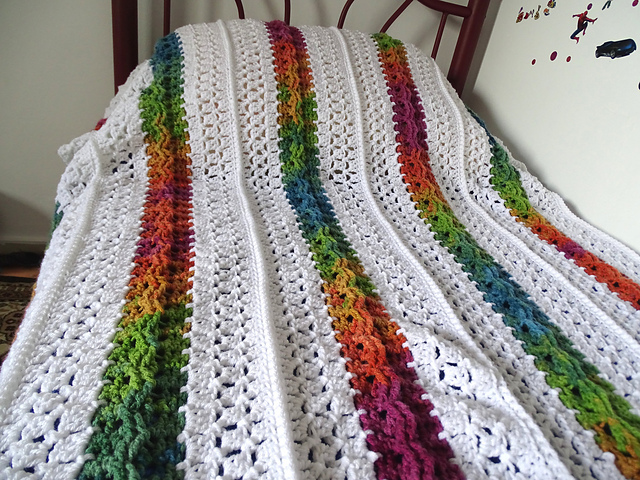 Ravelry: Mile a Minute Celtic Weave Afghan pattern by Meladoras ...