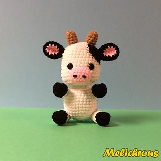 Amigurumi Easter Patterns Free : Ravelry: Cali the Cow Pattern Crochet Amigurumi PDF ...