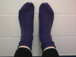 Basic Sock On Double Pointed Needles Pattern By Edie Ravelry