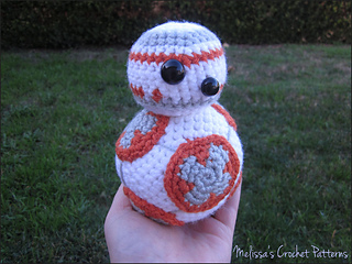 Ravelry Bb 8 From Star Wars Pattern By Melissas Crochet Patterns