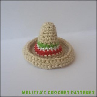 Ravelry  A Little Sombrero pattern by Melissa s Crochet Patterns 0e7124766d2