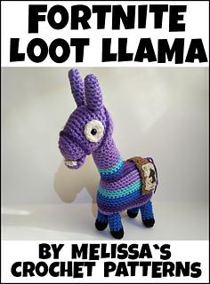 Ravelry Fortnite Loot Llama Pattern By Melissa S Crochet Patterns