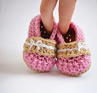 Alana Flats pattern by Mellony Bester