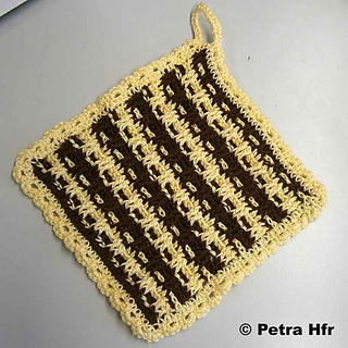 Ravelry Topflappen Im Waffelmuster Pattern By Meoquanee
