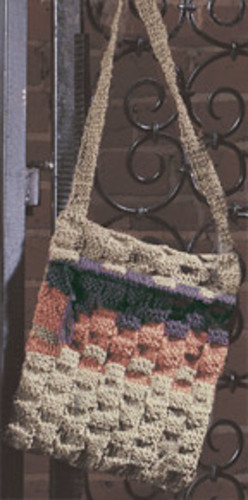 Ravelry Basketweave Shoulder Bag Pattern By Nancy Dale