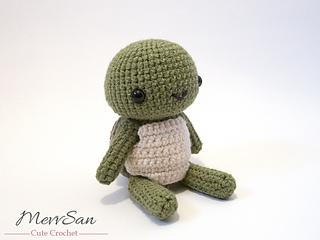 Amigurumi Turtle Pattern : Ravelry amigurumi woodland critter turtle pattern by mevlinn gusick
