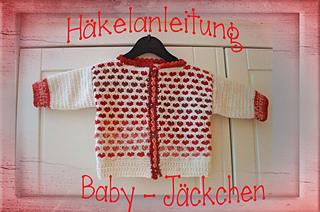 Ravelry Herzig Baby Jacke Pattern By Sternen Welt